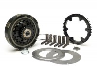 Clutch incl. primary drive set -BGM Pro Superstrong CR80, type Cosa2/FL- primary gear BGM Pro 62 tooth (straight) - Vespa PX80, PX125, PX150, PX200, Cosa, T5, Sprint150 Veloce, Rally, GTR, TS125, Super150 (VBC) - 23/62 tooth (2.69)