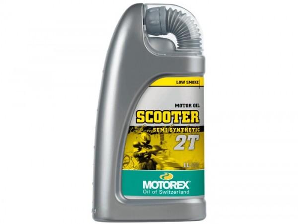 Öl -MOTOREX Scooter 2T- 2-Takt synthetisch - 1000ml