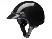 Helm -FM-HELMETS RS11P (Made in Italy)- Jethelm schwarz -