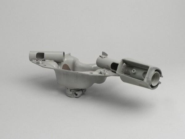 Lenkkopfgrundplatte -MADE IN INDIA- Vespa T5 125cc (Lenkerklemmung für Gabel Typ PX)