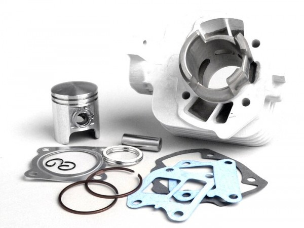Cylinder kit -BGM ORIGINAL 50 cc aluminium- Peugeot AC (horizontal) - SPEEDFIGHT3 50 AC (2-stroke), LUDIX AC, VIVACITY 50 NEW (2-stroke)