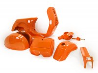 Frame (b-stock) -LML, disc brake- LML Star - including mudguard, side panels, tool box, handlebar, horn cover - orange - (092 / Foto158)