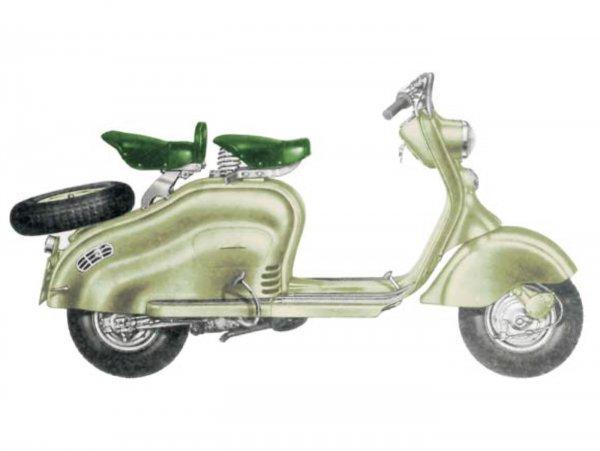 Lambretta (Innocenti) LD 125 (1956)