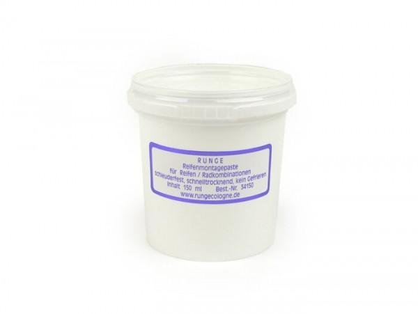 Reifenmontagepaste weiss -RUNGE- 150ml