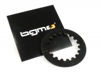 Clutch steel plate -BGM PRO Cosa2- Vespa Cosa2, PX (1995-), position 2, with groove - 1.5mm - (discs needed: 1 pc)