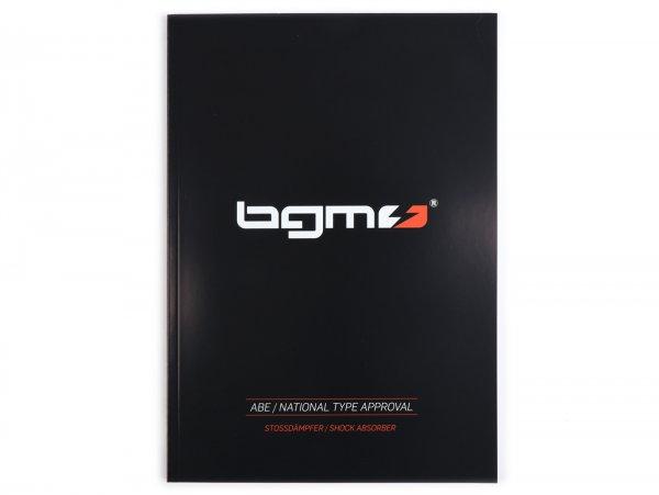 ABE/TÜV certificate for shock absorber -BGM PRO SC- version 2020