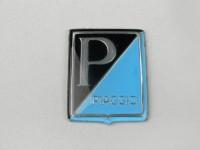Badge horn cover -VESPA- Piaggio rectanGL150 (VLA1T)e - Vespa GS150 / GS3 (since 1955), Vespa GS160 (since 1962), Vespa SS180 (since 1965), Vespa Super (since 1965), Vespa GT125 (since 1966) - plastic