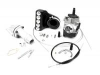 Kit Carburatore -POLINI 2-buci, 24mm Dellorto PHBL, lamellare- Vespa PK S
