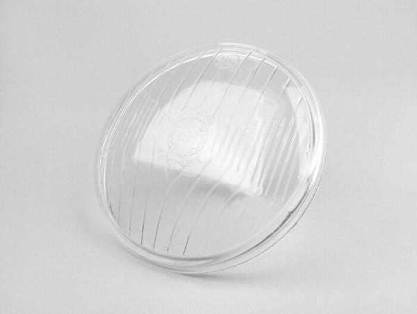 Headlight lens -SIEM Ø=115/120mm- VNB, VBA,VBB1, GS150 / GS3, GS160 / GS4 (VSB1T), VGLA