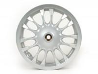 Cerchio ruota posteriore -PIAGGIO 3.00-12 pollici, Ø tamburo freno = 110mm - 14 razze- Vespa Sprint 50 (ZAPC53201) - argento