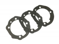 Gasket set for cylinder base -PINASCO213/225/PX200cc- Vespa PX200, Rally200, Cosa200 - 0.25mm/0.50mm/0.75mm