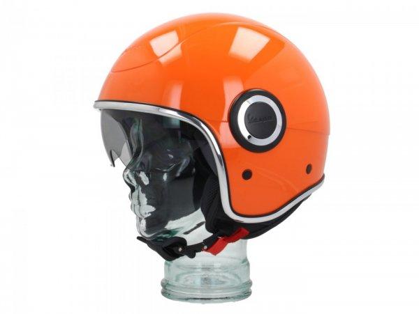 Helmet -VESPA VJ1- open face helmet, Arancio (890/A) - XS (52-54cm)
