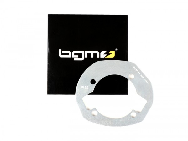 Cylinder base spacer -BGM PRO- Lambretta LI, LIS, SX 125-150, TV 175 (2nd series, 3rd series), DL/GP 125-150 - 3.0mm