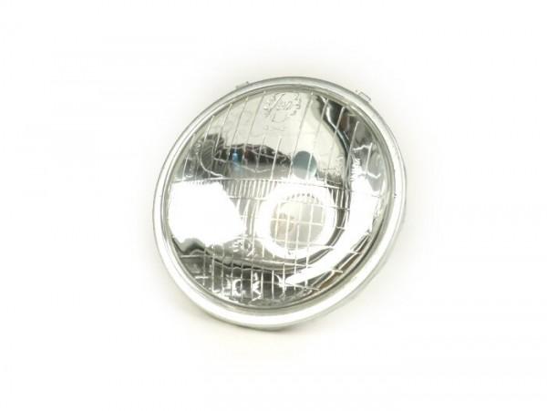 Scheinwerfer -SIEM Ø=105/115mm (Glas/außen)- Vespa V50 - 15W Birne, Glas