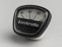 Tacho -LAMBRETTA- DL 125-150, GP 125-150 - 70mph