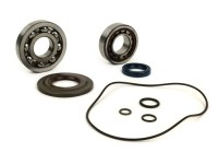 Bearing and oil seal set for crankshaft -OEM QUALITY- Vespa T5 (125cc) VNX5T - metal