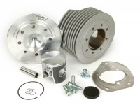 Zylinder -PINASCO Zuera Ø57,5mm SS 135cc- Vespa V50, PV125, ET3, PK50, PK80, PK125