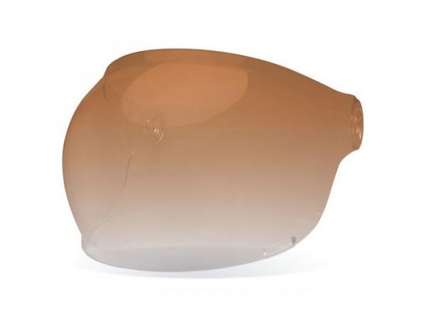 Visera de casco -BELL Bullitt, Bubble- anaranjado/incoloro gradiente - cierre negro