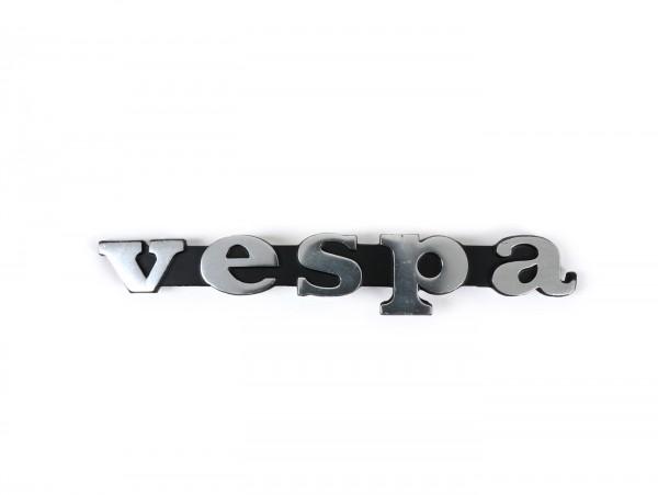 Schriftzug Beinschild -OEM QUALITÄT- Vespa - Vespa PV125 (ab Bj. 1968), Vespa Rally200 (ab Bj. 1976), Vespa TS, Vespa V50 Special, Vespa PX (Bj. 1977-1983)