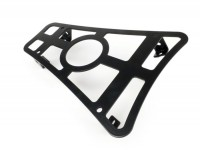 Floor board rack with cup-holder -CLASSIC RACKS- Vespa GTS 125-300, GTV, GTL, GT - matt black