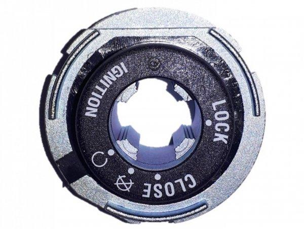 Cuerpo cerradura dirección on-off -PIAGGIO- Vespa GTS 125 (ZAPMA3100, ZAPMA3200, ZAPMA3700), Vespa GTS 150 (ZAPMA3200, ZAPMA3100), Vespa GTS 300 (ZAPMA3300), Vespa GTS HPE 300 (ZAPMA3600, ZAPMD310), Vespa GTS Super 125 (ZAPMA3100, ZAPMA3200, ZAPMA370