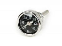 Sonde de température d'huile  -RR- Piaggio LEADER / QUASAR 125-300cc 4 temps - Vespa ET4, LX, LXV, S, GT, GTS, GTV, GTL - cadran compteur noir