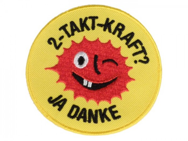 Patch thermocollant -2-Takt Kraft-
