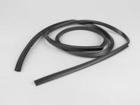 Glove box rubber beading -PIAGGIO- Vespa PX EFL (1984-) - black