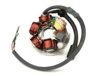 Statore / accensione completo -QUALITÀ OEM - Vespa PK XL, Ape 50 -  statore con 6-cavo