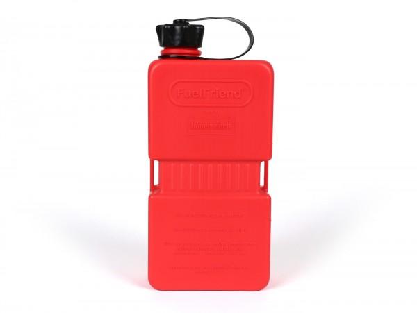 Bidon 1.5l (1500ml) -HÜNERSDORFF FuelFriend PLUS- rouge