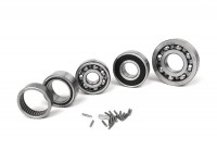 Ball bearing set for engine -SCOOTER CENTER- Vespa Largeframe PX125 (VNX2T, ZAPM741, ZAPM093), PX150 (VLX2T, ZAPM511, ZAPM742), PX200 (VSX1T), MY, 98 , Cosa (VNR1T, VNR2T, VSR1T), LML150 Star, Stella150