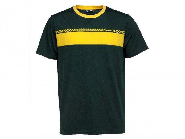 """T-Shirt -VESPA """"Racing Sixties""""- green - L"""