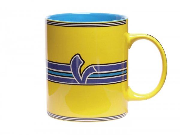 "Mug -VESPA ""V-Stripes""- yellow"