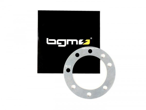 Cylinder head spacer -BGM PRO RaceTour Ø=65,0mm 8 fixings - Lambretta LI 125-150, LIS, SX 125-150, TV 175 (2nd series, 3rd series), DL/GP 125-150 - 1,5mm