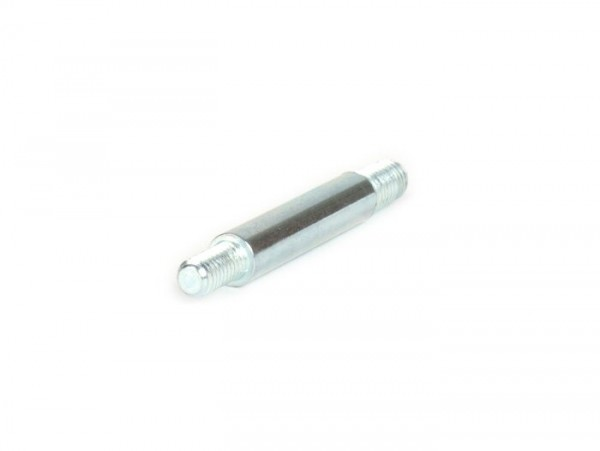 Perno de sujeción filtro de aire/carburador -DELLORTO- SHBC 16/10 - Vespa Smallframe 50N, 50L, 50R, 50 Special, Wideframe V1-15, V30-33, VM, VN, VU, VL, VB - M4 / M5 x 44 mm