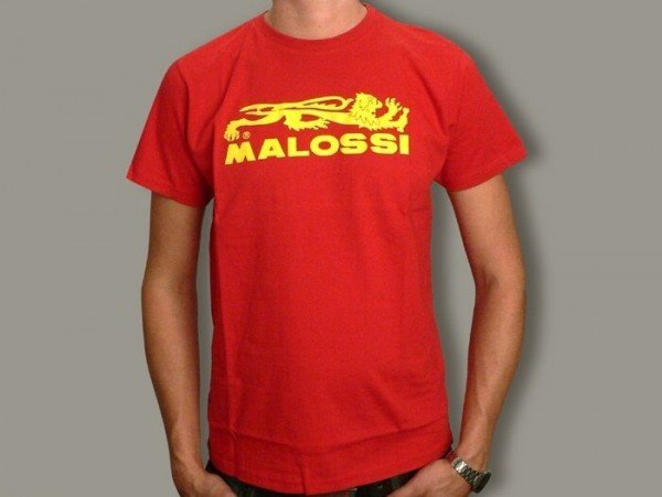 T-Shirt -MALOSSI- rouge - small