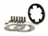 Primary gear -BGM PRO- Vespa PX200, Rally200 - 63 tooth (straight) - incl. primary gear repair kit BGM PRO reinforced