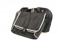 Legshield bag -UNIVERSAL- Lambretta LI (series 3), LIS, SX, TV (series 3), DL, GP, Vespa - black