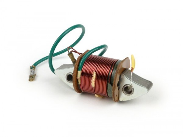 Zündspule - Lichtspule 1° -CEAB- Vespa V90 (bis Nr. 71249), Vespa 125 (VNB1T bis VNB4T), Vespa 150 (VBB1T), Rally180 (VSD1T)