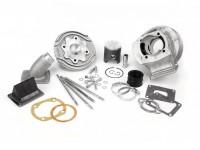 Zylinder -POLINI Aluminium 133 ccm Evolution Membran (52,8mm Hub)- Vespa PV125, ET3 125, PK125