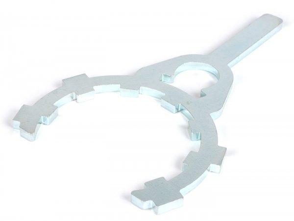 Clutch locking tool 2.0 -HARTZ 4.2 & 4 & 5- Vespa V50, V90, SS50, SS90, PV125, ET3, PK, PK S, PK XL, PK XL2