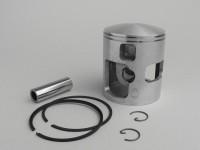 Piston -POLINI- Vespa 207cc 2 piston rings - 68.0mm