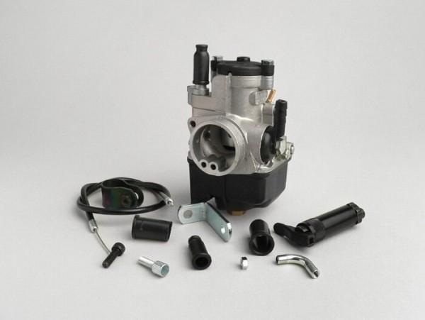 Vergaserkit -MALOSSI 25mm Dellorto PHBL- manueller Choke, Piaggio Hexagon 125-180 ccm 2-Takt - AW=30mm