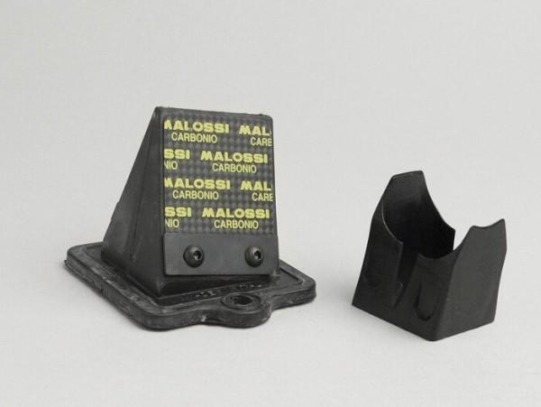 Membranblock -MALOSSI MHR 45°- Piaggio 50-180 ccm