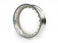 Cerchio ruota -PIAGGIO 3.00-12 pollici- Vespa 946 - anteriore - argento lucido