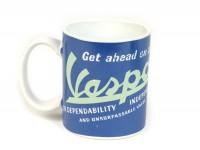 Mug - Becher -FORME- Vespa, Get ahead on a Vespa