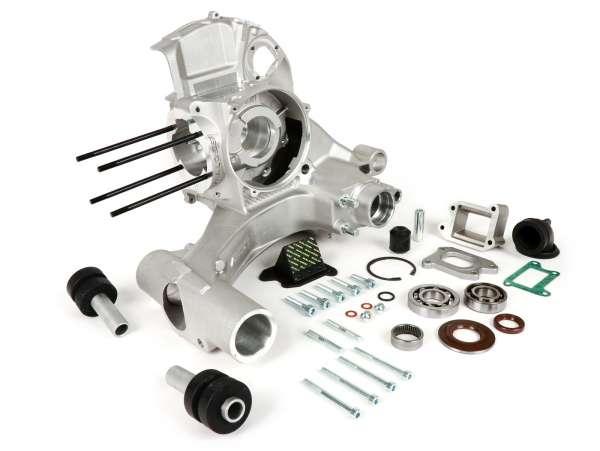 Motorgehäuse -MALOSSI VR-One, Membraneinlass- Vespa PX80, PX125, PX150, LML Star/Stella 125/150 Elestart