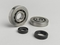 Bearing and oil seal set for crankshaft -ATHENA- Honda 50cc (type Bali)