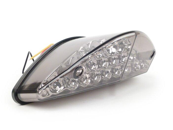 Yamaha Aerox LED light smoked rear tail light E marked OEM fit