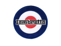 Patch thermocollant -LAMBRETTA TARGET- Ø=80mm